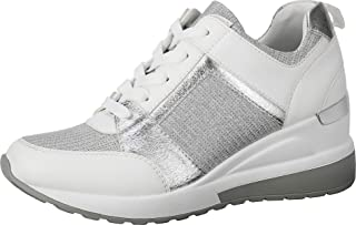 Women's Wedge Sneakers High Heel Fashion Lightweight Walking Shoes