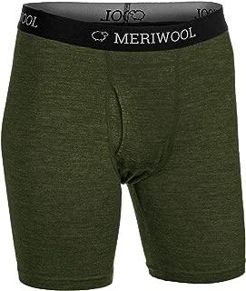 MERIWOOL Mens Boxer Briefs Merino Wool Underwear Base Layer for Men