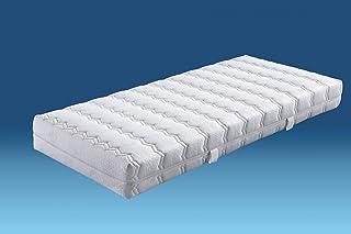 Hukla colchón de muelles bombés (7zonas, Belvedere–160x 200cm–D2hasta 80kg