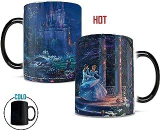 Disney Morphing Mugs Thomas Kinkade Cinderella Dancing Heat Reveal Ceramic Coffee Mug - 11 Ounces