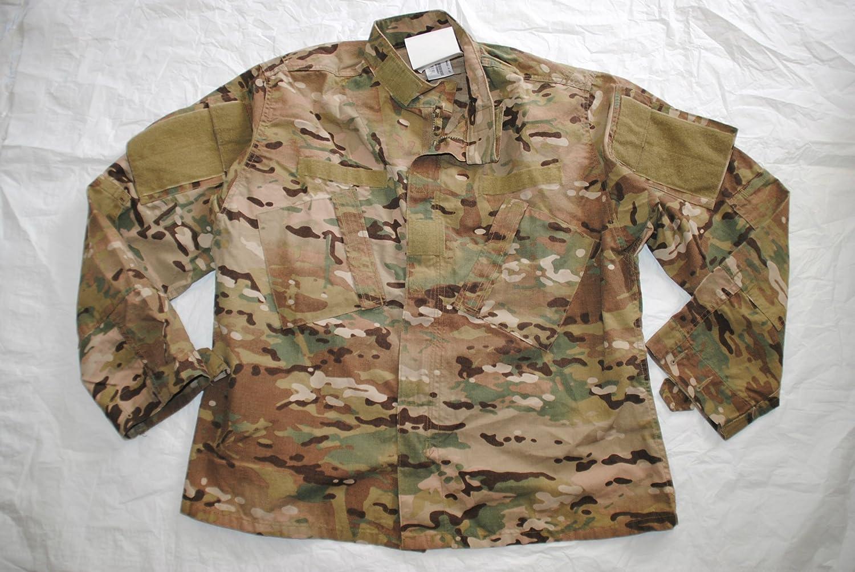 Us Army Max 75% OFF Nomex Flame Resistant Multicam Large Max 51% OFF Combat Shirt Coat -