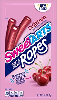 SweeTARTS Soft and Chewy Ropes, 5 Ounces (Pack of 12)