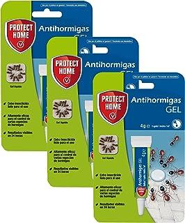 comprar comparacion Protect Home Antihormigas cebo en gel contra hormigas para interiores, rápida acción y altamente atractivo, 4g (Pack de 3)...