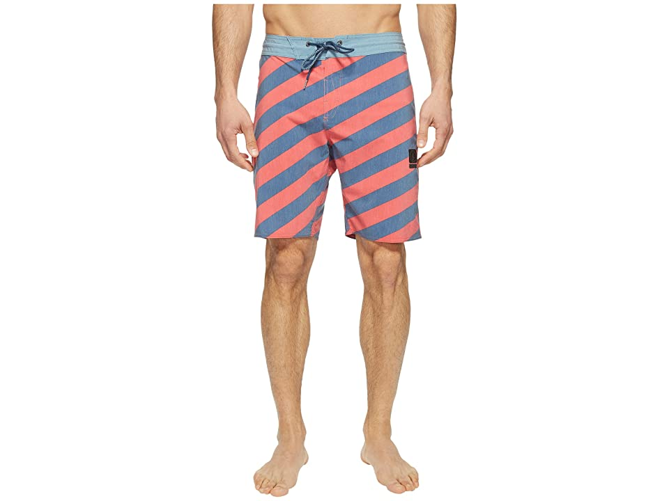 Volcom Stripey Slinger 19 Boardshorts (Toffee) Men