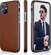 LOHASIC iPhone 12 Pro/iPhone 12 Case, Slim Soft PU Leather Luxury High-end Business Cover Anti Scratch Non Slip Full Body ...