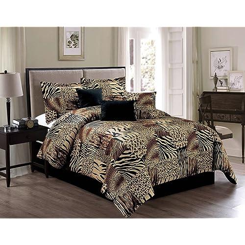 Animal Print King Bedding Sets: Amazon.com