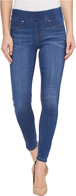 Liverpool - Sienna Pull-On Ankle in Silky Soft Denim in Coronado Mid