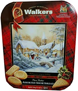 Walkers Premium Shortbread Selection Gift Tin (2.73 Pounds)