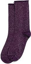 Hue Women's Metallic Roll Top Sock