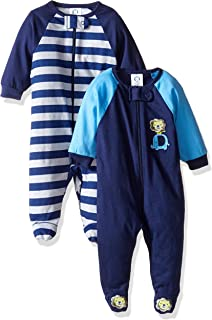 GERBER Baby Boys` 2-Pack Sleep `N Play