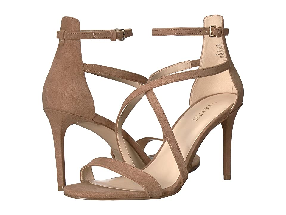 Nine West Retilthrpy (Natural Fabric) Women's Sandals, Neutral