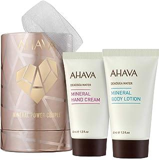 Sponsored Ad - AHAVA Mineral Power Couple Value Set | Dead Sea Mineral Hand Cream & Minereal Body Lotion Travel Size 40 ML...
