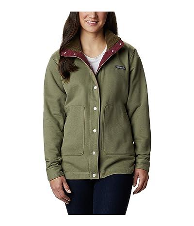 Columbia Hart Mountain Shirt Jacket (Stone Green) Women