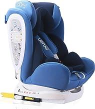 LETTAS Kinder Autositze Sitzschale Baby autositz 01/2/3 0-36 kg mit Protektoren seitliche Isofix ECE R44/04 ISOFIX Marine