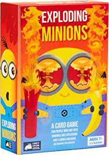 Exploding Kittens Minions by Exploding Kittens - A Russian Roulette Card Game, Easy Family-Friendly Party Games - Card Gam...