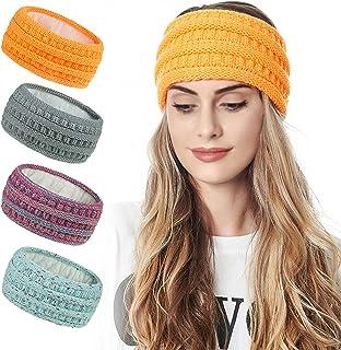 Amazon.com: Women's Cold Weather Headbands - Oranges / Cold Weather  Headbands / Hats & Caps: Clothing, Shoes & Jewelry