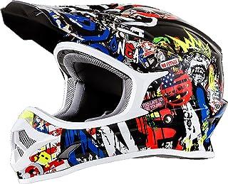 "O""NEAL 3 Series Rancid Motocross Enduro MTB Helm schwarz/Multi 2018 Oneal: Größe: S 55-56cm"