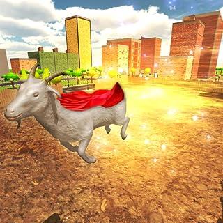 Crazy Flying Goat Simulator 3D