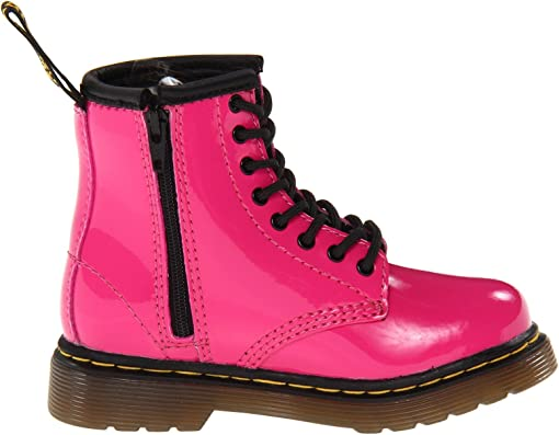 Hot Pink Patent Lamper