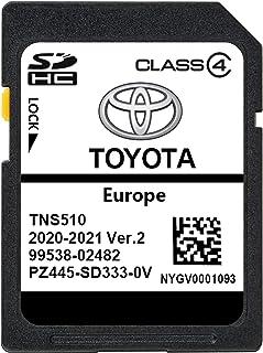 Nieuwste 2020/2021 VER.2 Toyota TNS510 SD KAART TNS 510 Navigatie Update SD CARD EUROPA TURKIJE RUSLAND - PZ445-SD333-0V