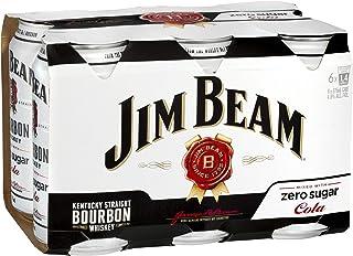Jim Beam White Zero Cans 6pk, 375 ml (Pack Of 6)