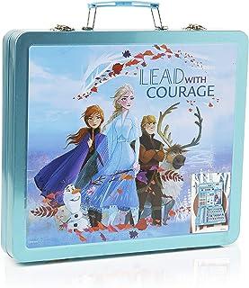 Disney Frozen 2 El Reino del Hielo Set Creativo para Niñas, Kit de Manualidades para Pintar Juego Completo de 60 Piezas, Incluye Lapices, Cuaderno de Dibujar y Rotuladores, Regalos para Niñas