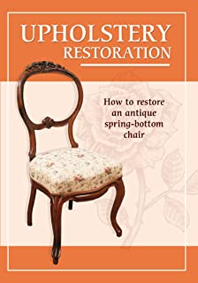 How to restore an antique spring-bottom chair