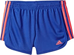 adidas Kids - Around The Block Mesh Shorts (Big Kids)