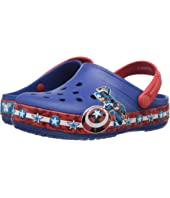 Crocs Kids - Crocband Fun Lab Captain America Clog (Toddler/Little Kid)