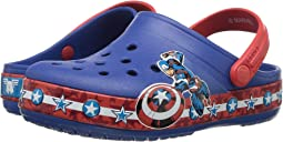 Crocband Fun Lab Captain America Clog (Toddler/Little Kid)