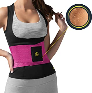 HOT SHAPERS Cami Hot with Waist Trainer – Women's Slimming Body Shaper – Vest – Corset for Weight Loss, Trimming Tummy, Wo...