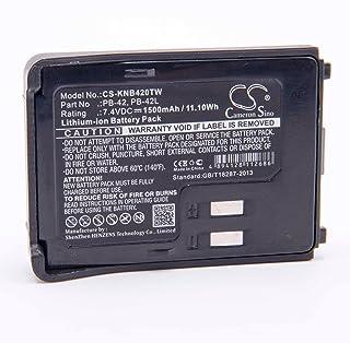 7.4V TC-618 TC-610P pour Radio Talkie-walkie HYT//Hytera TC-610 TC-620 TC-626 vhbw Li-ION Batterie 2000mAh TC-610S