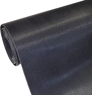 Mat met fijne groef, 3 mm dik, breedte (tot 1800 mm) en lengte (tot 10 m), selectie: breedte 400 mm (40 cm) x lengte 2500 ...