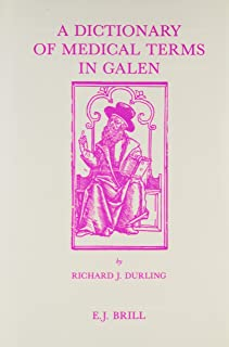 A Dictionary of Medical Terms in Galen