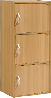 small storage cupboards with doors