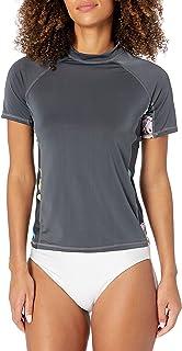 Kanu Surf Women's Breeze UPF 50+ Short Sleeved Active Rashguard & Workout Top