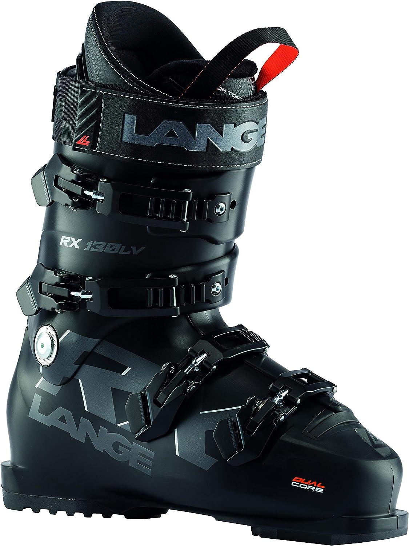 Lange RX 130 L.V Mens Ski Boots Black