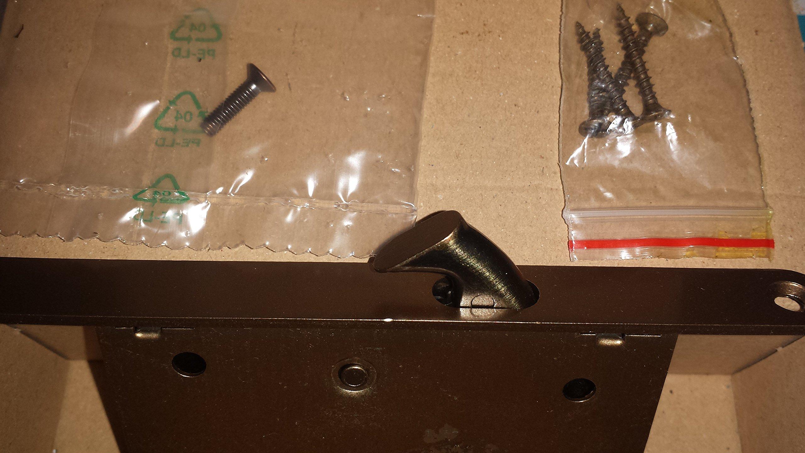Kit para puertas correderas Scrigno latón rascado barnizado: Amazon.es: Bricolaje y herramientas