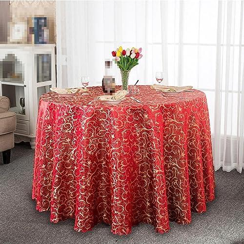 cómodo ZHUOBU Mantel de Hotel, paño de de de Cocina Europea Restaurante manteles, Gran Mesa rojoonda manteles manteles  muy popular