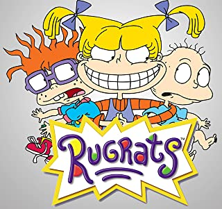 Rugrats Iron On Transfer for T-Shirts & Other Light Color Fabrics #1 Divine Bovinity