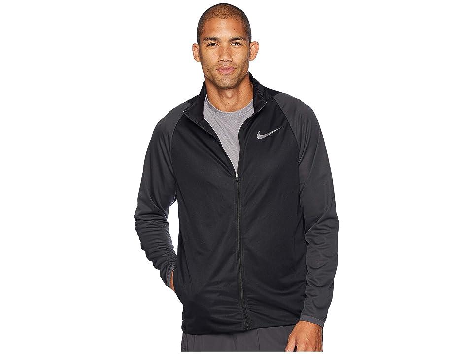 Nike Epic Jacket Knit (Black/Anthracite/Metallic Hematite) Men