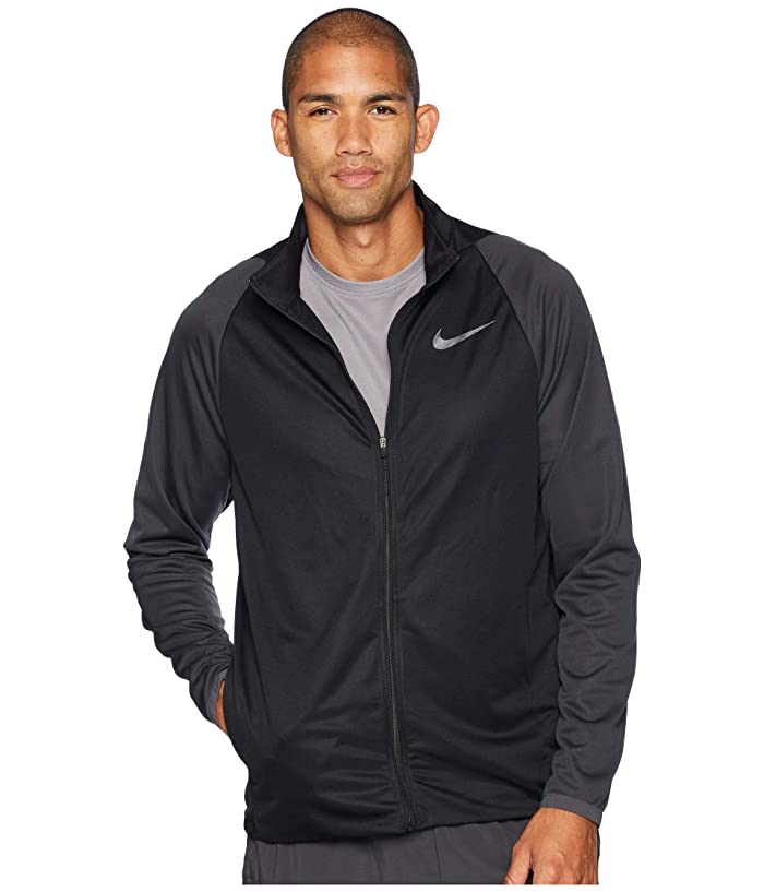 Nike Epic Jacket Knit (Black/Anthracite/Metallic Hematite) Men