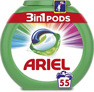 Ariel 3 in 1 Pods Colour And Style 55 Washes
