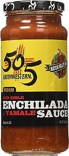 505 Southwestern 16oz Jar (Pack of 3) (Select Flavor Below) (Enchilada and Tamale Sauce - Medium)