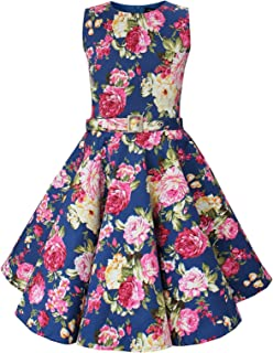 BlackButterfly Kids 'Audrey' Vintage Divinity 50's Girls Dress