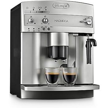 De'Longhi Cafetera Superautomática Magnifica ESAM3300 para Espresso con Molino para Café en Grano y Sistema Manual de Cappuccino