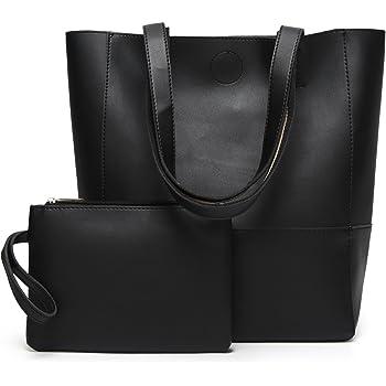 DCCN Women's PU Leather Tote Bag