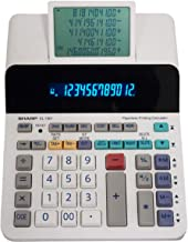 Sharp EL-1901 Paperless Printing Calculator with Check and Correct, 12-Digit LCD Primary Display, Functions the Same as a ... photo