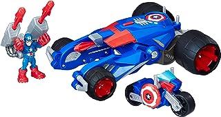 Playskool Heroes Marvel Super Hero Adventures Captain America's Victory Launcher