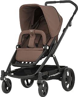 Britax Römer Kinderwagen 6 Monate - 3 Jahre I bis 17 kg I GO Kinderwagen mit Sportaufsatz I Wood Brown